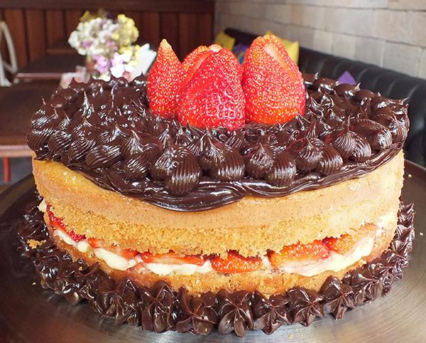 Torta de morango | Foto: Divulgação