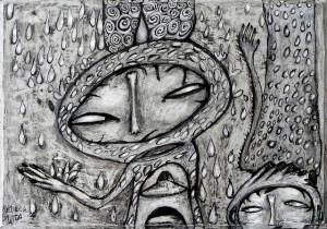 Obra de Rebeca Matta, uma das artistas que irá expor durante o evento.