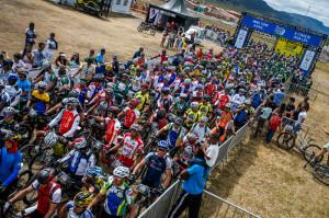 argada com cerca de 1 mil ciclistas no encerramento da Brasil Ride. Foto: Fabio Piva.