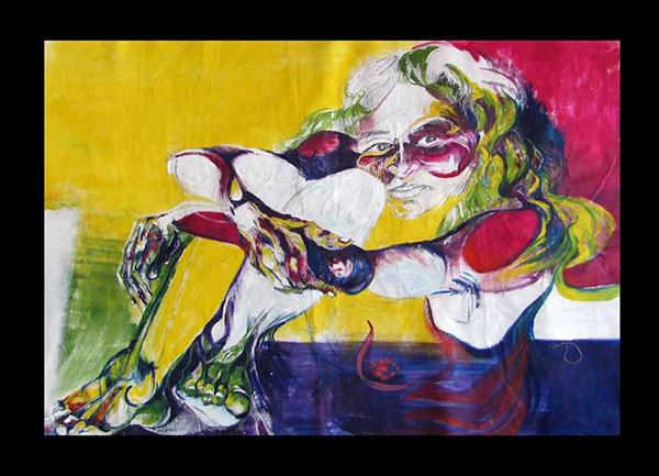 Obra de Maria José. Foto: Arquivo Pessoal