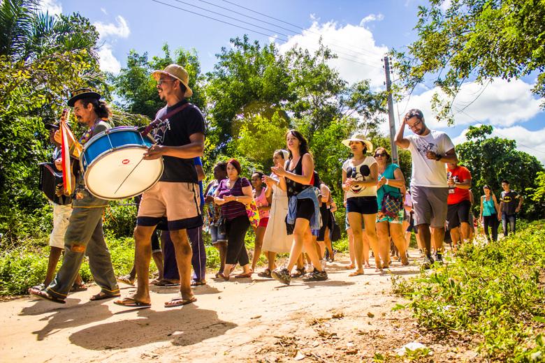 Trilha Griô no Remanso - Foto: Uilami Dejan