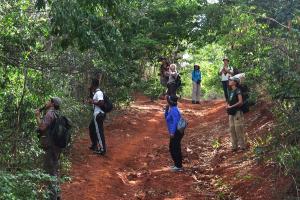 Equipe do COA-BA em Itaetê. Foto: Arquivo