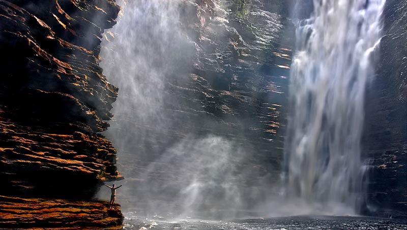 Cachoeira do Buracão, em Ibicoara | Foto: Karsten Rau