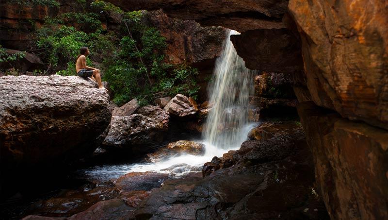 Cachoeira da Primavera, Lençóis/BA. Foto: Açony Santos | www.acony.com.br