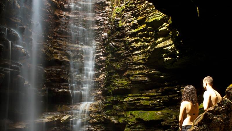 Cachoeira do Mixila, Lençóis/BA. Foto: Açony Santos | www.acony.com.br