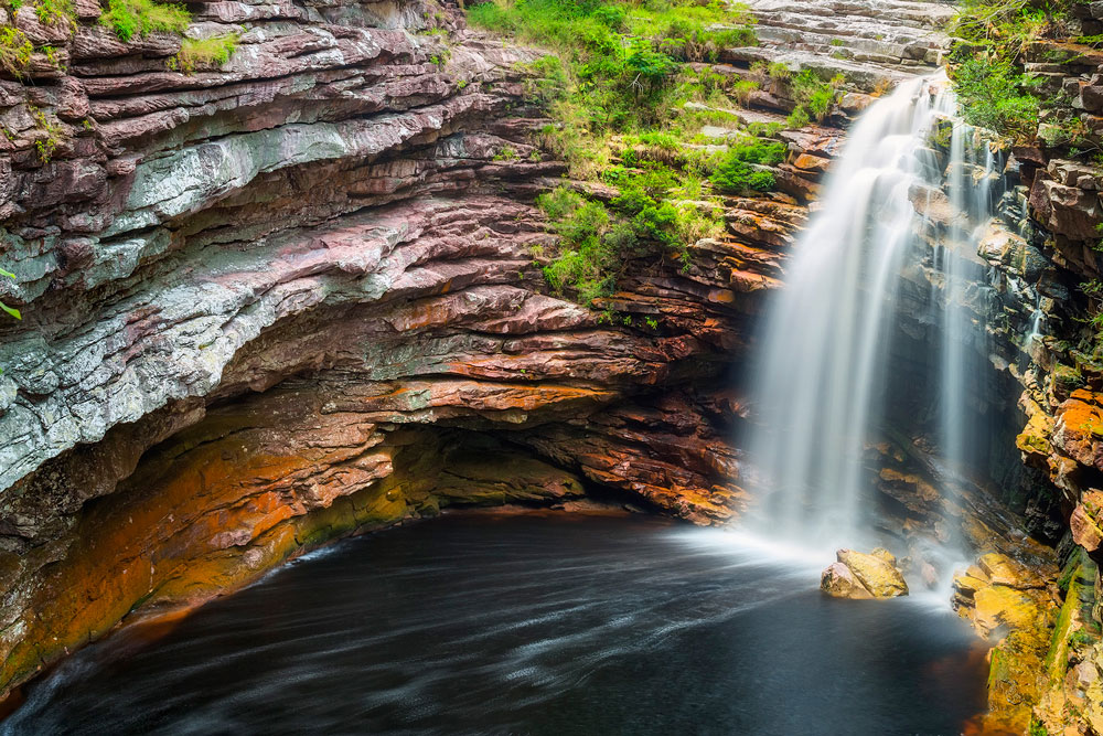 Cachoeira do Sossego - Lençóis (Márcio Cabral)
