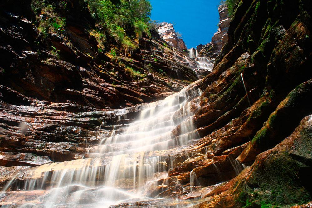 Cachoeira dos Cristais, Andaraí/BA. Foto: Thalison Ribeiro