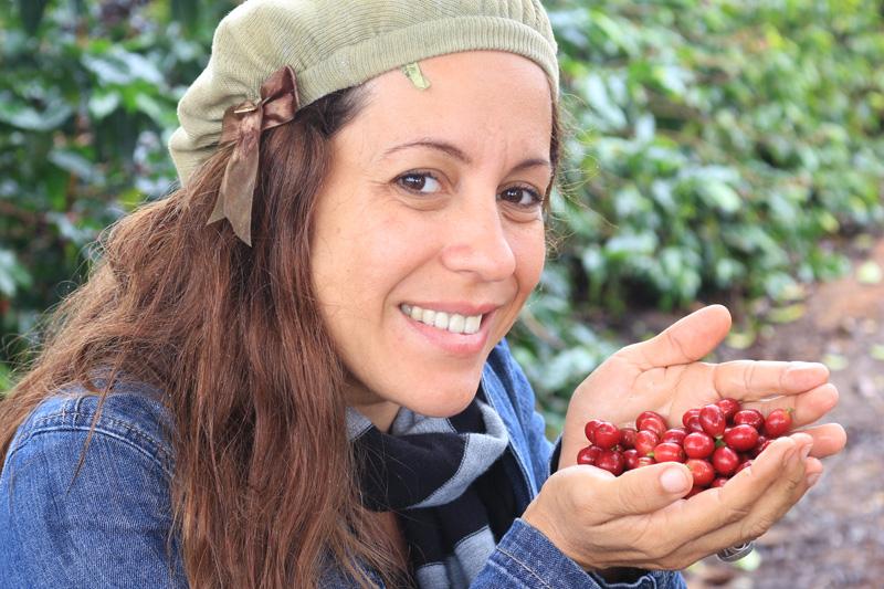 Produção de café. Foto: Túlio Saraiva