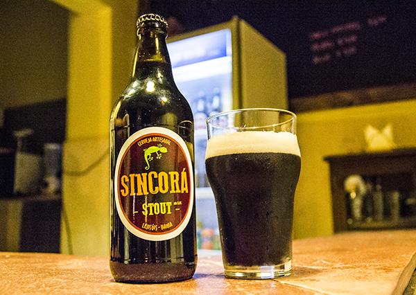 Cerveja Sincorá Stout, de Lençóis | Foto: Caiã Pires
