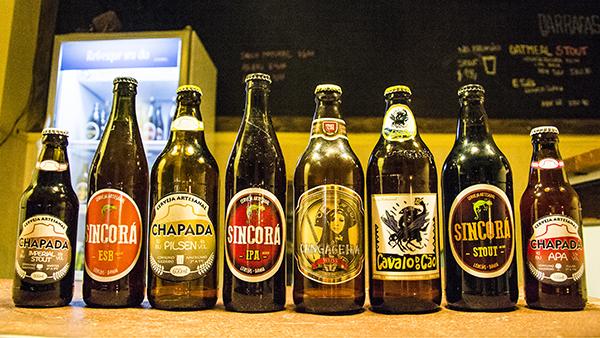 Cervejas artesanais da Chapada Diamantina. Foto: Caiã Pires