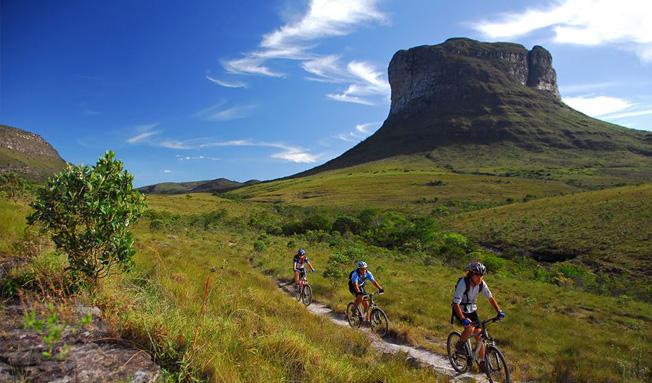 Mountain Bike no Morrão | Foto: Terra Chapada