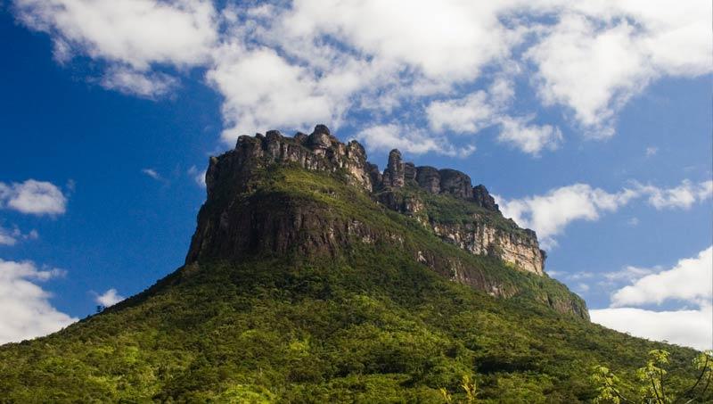 Morro do Castelo, no Vale do Pati   Foto: Açony Santos