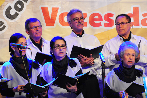 Festival Vozes na Chapada, em Mucugê. Foto: Roberto Rodrigues