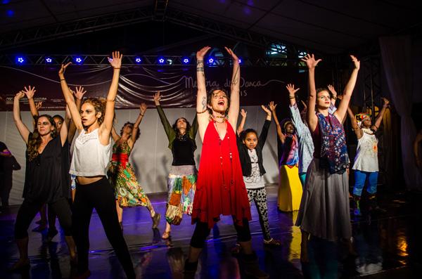 Mostra de Dança de Lençóis. Foto: André Frutuôso