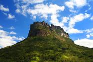 Morro do Castelo, no Vale do Pati | Foto: Açony Santos