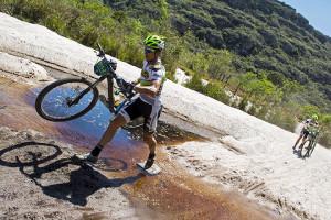 Lukas e Hugo venceram o prólogo (Ney Evangelista- Brasil Ride)
