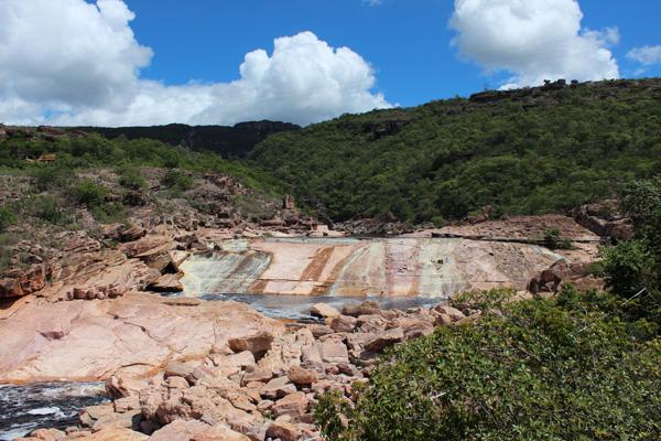 Balneário do Rio Paraguaçu, Andaraí/BA. Foto: Thaís de Albuquerque | www.be.net/thalbuquerque