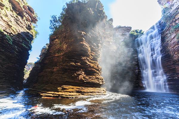 Cachoeira do Buracão, em Ibicoara. | Foto: Tom Alves