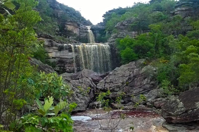 Cachoeira das Três Barras II e Cachoeira do Bocório, Andaraí/BA. Foto: André Badega