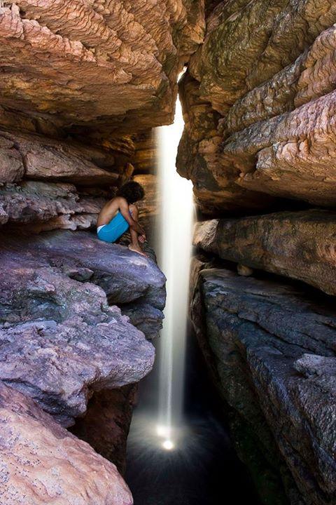 Cachoeira da Califórnia, Igatu - Andaraí/BA. Foto: Dmitri de Igatu | www.dmitrideigatu.blogspot.com.br