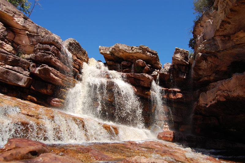 Cachoeira da Rosinha, Andaraí/BA. Foto: Julio Mansur