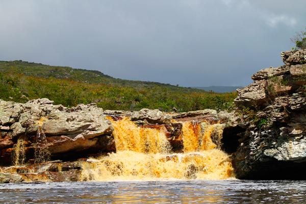 Cachoeira do Cardoso, Mucugê/BA. Foto: Thalison Ribeiro