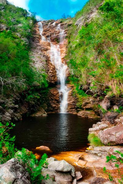 Cachoeira do Licuri, Ibicoara/BA. Foto: Márcio Cabral | www.pbase.com/marciocabral