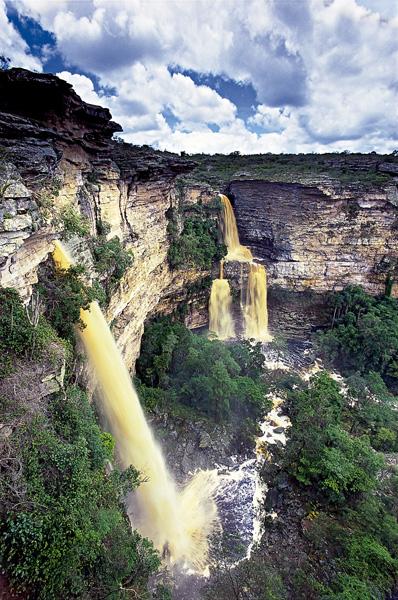 Cachoeira do Ferro Doido, em Morro do Chapéu   Foto: Rodrigo Galvão