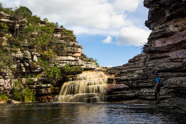 Cachoeira do Funil, Mucugê/BA. Foto: Caiã Pires | www.be.net/caiapires