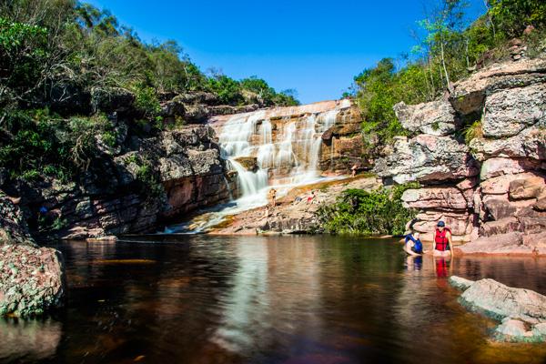 Cachoeira do Riachinho, Vale do Capão - Palmeiras/BA. Foto: Caiã Pires | www.be.net/caiapires