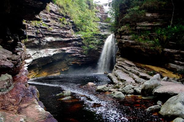 Cachoeira do Sossego, Lençóis/BA. Foto: Açony Santos | www.acony.com.br