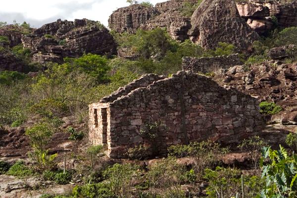 Ruínas de Igatu - Andaraí/BA. Foto: Açony Santos | www.acony.com.br