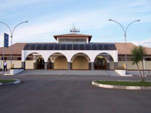 Aeroporto Horácio de Matos, em Lençóis.