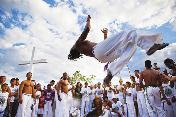 Grupo Corda Bamba de Capoeira, em Lençóis. Foto: Açony Santos