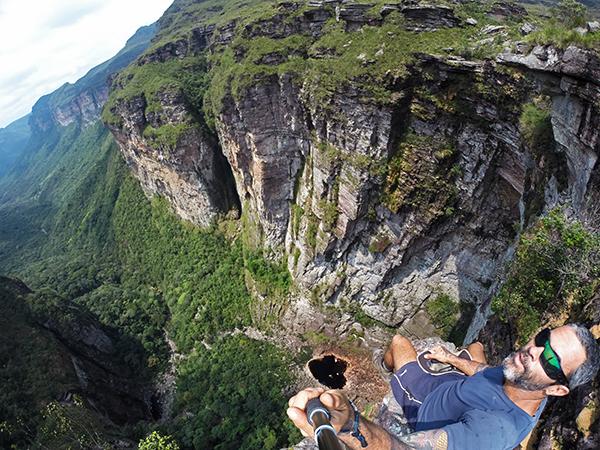 Mirante do Cachoeirão. Foto: Pedro Andrade