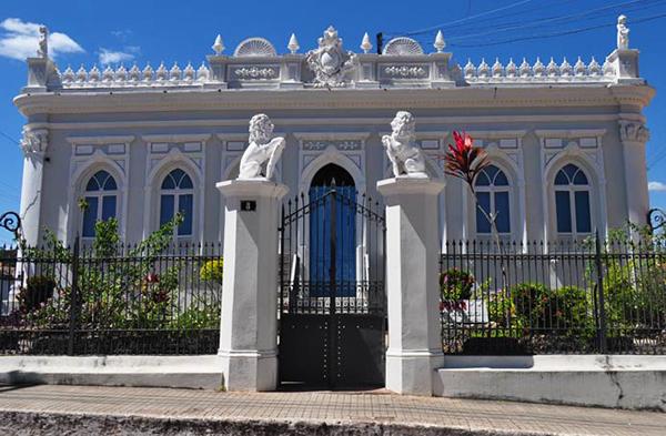 Casarão histórico em Lençóis. Foto: Branco Pires