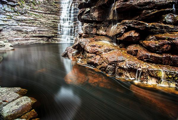 Cachoeira da Invernada, em Andaraí | Foto: Tom Alves