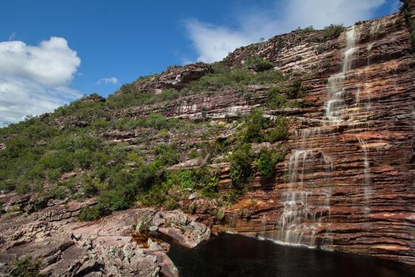 Cachoeira do Bom Jardim, em Andaraí| Foto: Açony Santos