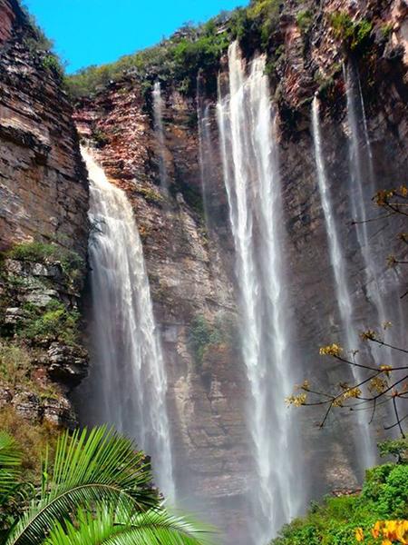 Cachoeira do Herculano, em Andaraí | Foto: Orlando Bernadino