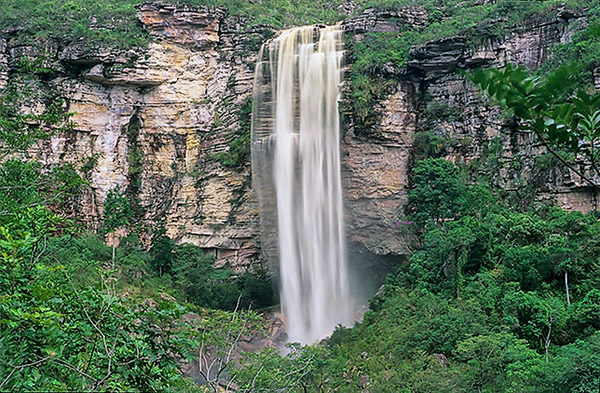 Cachoeira do Ramalho, em Andaraí | Foto: Alex Uchoa