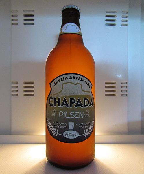 Cerveja Chapada estilo Pilsen | Foto: Arquivo
