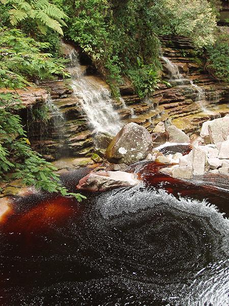 Rio Mandassaia, em Lençóis | Foto: Branco Pires
