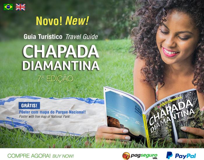 Adquira a 7ª Edição do Guia Turístico Chapada Diamantina!