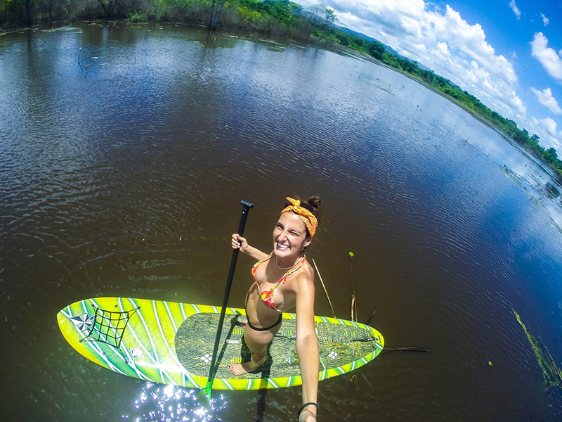 Stand Up Paddle no Marimbus | Foto: Chapada SUP Trip