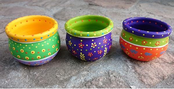 Vasos de cerâmica | Foto: Divulgação
