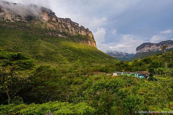 Casa de Dona Raquel, no Vale do Pati | Foto: Jeilson Barreto Andrade