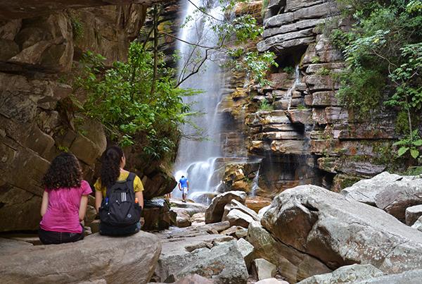 Cachoeira do Mosquito, em Lençóis | Foto: Branco Pires