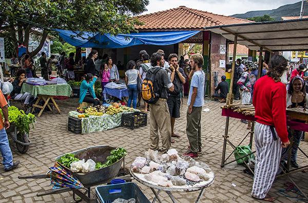Feira do Vale do Capão | Foto: Caiã Pires