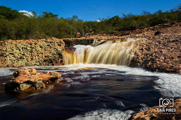 Caldeirões naturais do Serrano, em Lençóis | Foto: Caiã Pires