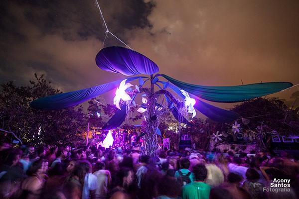 Última edição do Ressonar Festival, quando ainda era na Cratera, em Lençóis | Foto: Açony Santos - www.acony.com.br